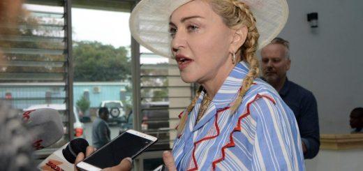 Madonna Celebrates One-Year Anniversary in Malawi Hospital