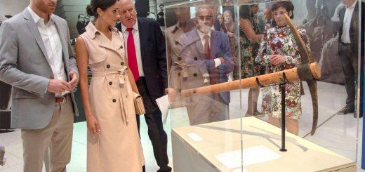 Prince Harry and Meghan Visit Mandela Exhibition in London