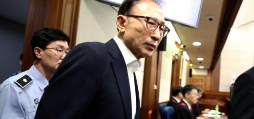 South Korea Court Jails Former President Lee Myung-Bak