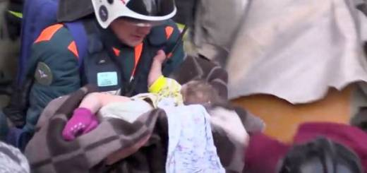 Baby Boy Survives 35 Hours Under Russia Blast Rubble