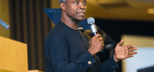 "Osinbanjo – ""Buhari has not been aware of Onnoghen's trial allegations until Saturday"