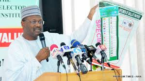 #ELECTION: INEC Chairman Adjourns Announcement Of Result