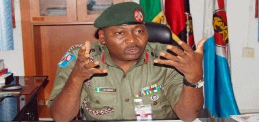 Nigeria Army - Sani Usman Announces Sudden Retirement From Service