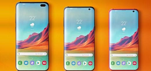 Samsung Galaxy S10, S10e and S10+