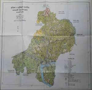 "Soil Survey Data from ""Jhalakathi Sadar Upazila"" Nirdeshika"