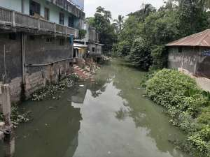 """Water Pollution of the """"Jail Khal"""" Canal"""