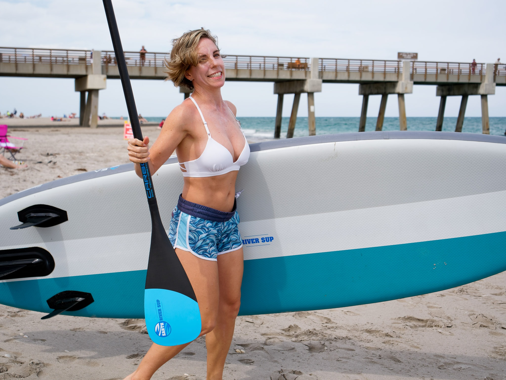 Paddling with and ERS 85 paddles