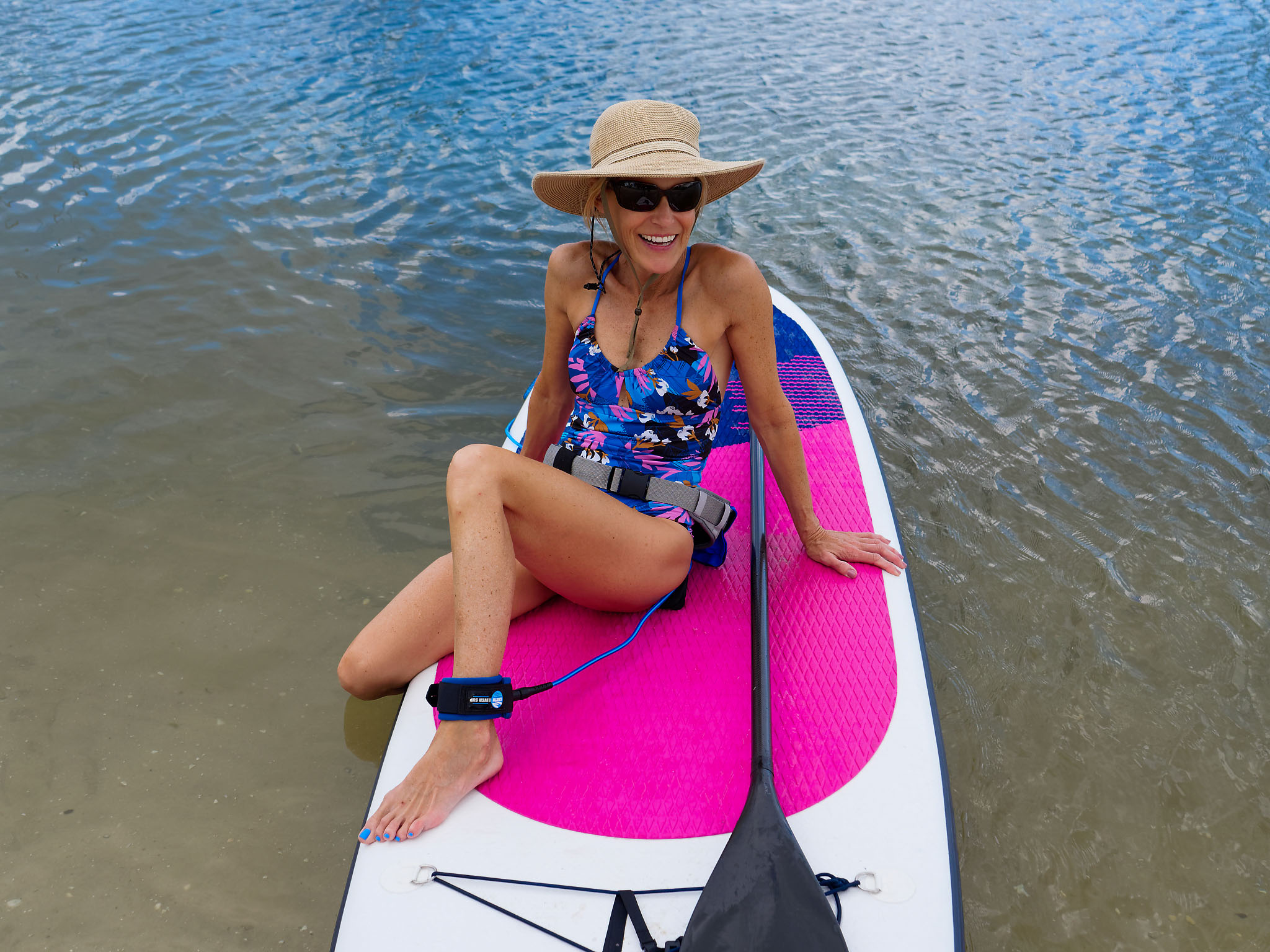 Paddle boarder over 50s