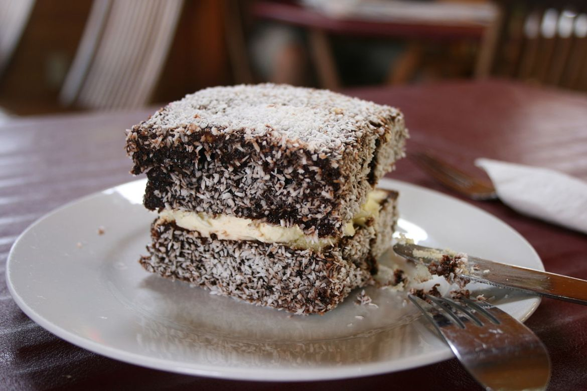 Lamingtons are one of the popular Australian dishes - you'll find them served with tea. These are the best Australian foods