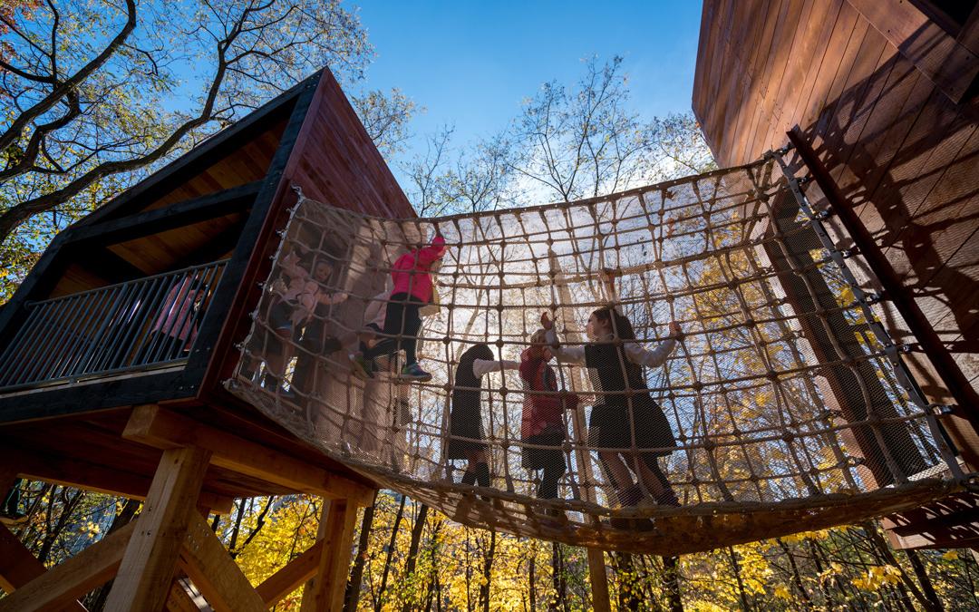 Branksome Hall Modern Playground Towers Private School Toronto