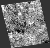 Shayrat air base in Syria captureted by Sentinel-1A on 2017/04/17