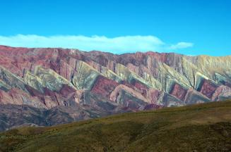 Rainbow Mountains from the ground, Salta