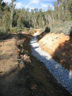 Open Limestone Drain