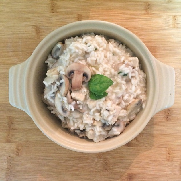 Easy Quorn & Mushroom Risotto