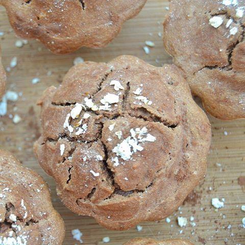 Vegan Cacao, Goji Berry & Oat Muffins