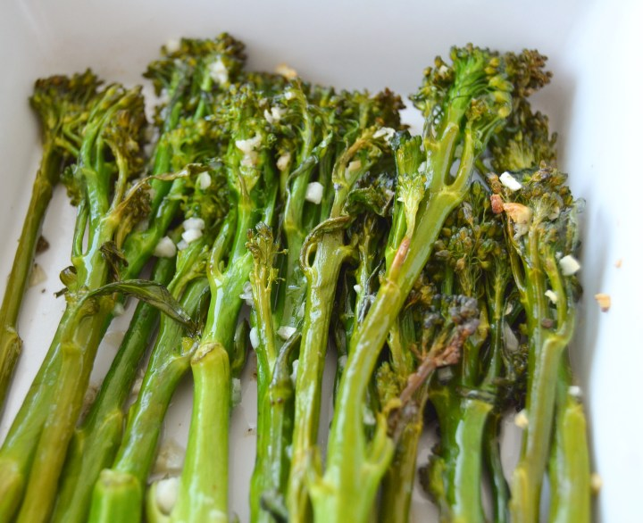 Eat your greens: Coconut Oil Garlic Roasted Broccoli