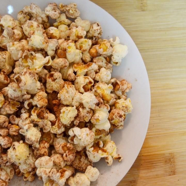Cinnamon & Cacao Popcorn