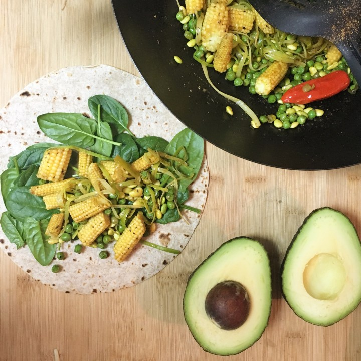 hola! Low Fat Mexican Vegan Lunch Wraps