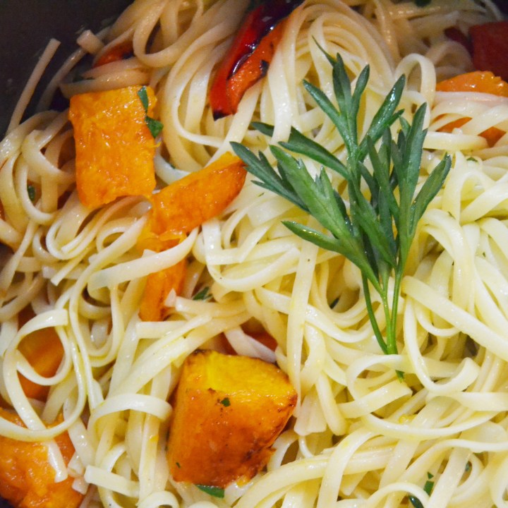 Autumn Pumpkin & Lemon Linguine