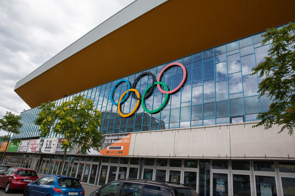 Olympic Rings Innsbruck
