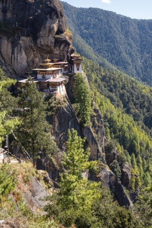 Tiger's Nest From Afar