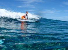 Tyler Surfing