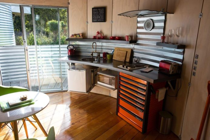 Silo Stay Kitchen