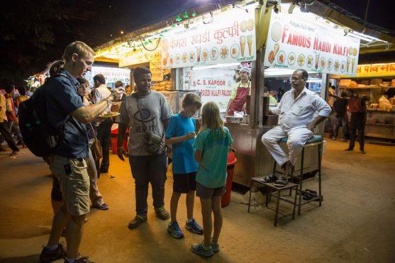 Kulfi street food