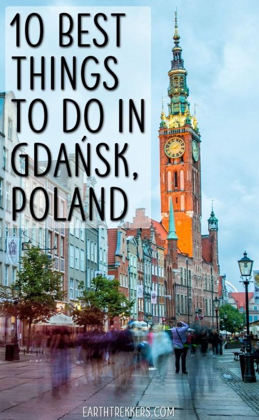 10 Best things to do Gdansk Poland