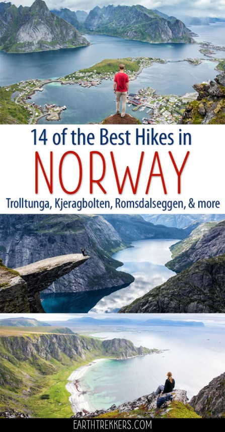 Best Hikes Norway Trolltunga