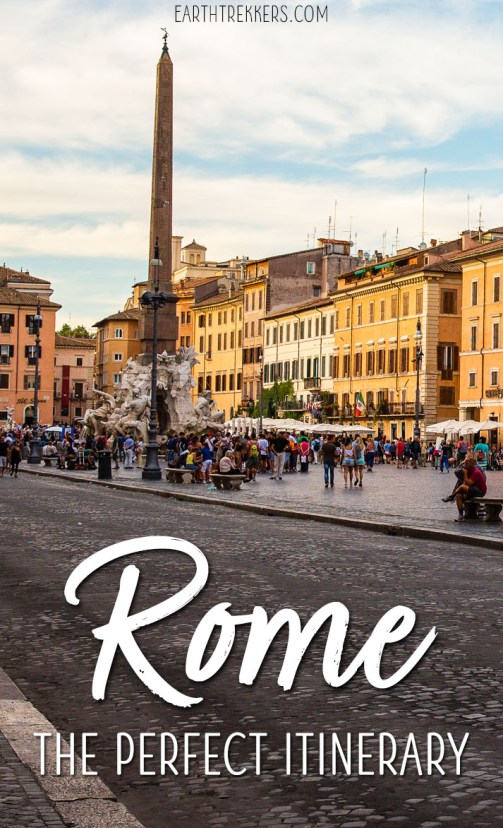 Rome Italy Itinerary and Travel Guide