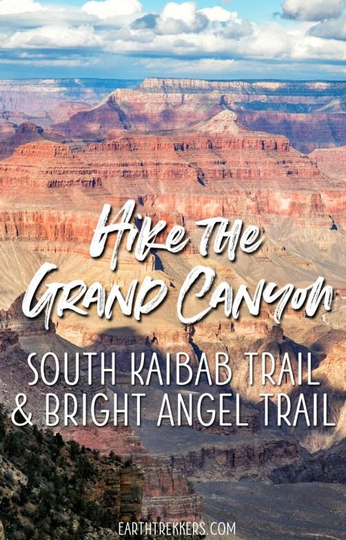 Hike Grand Canyon South Kaibab Trail