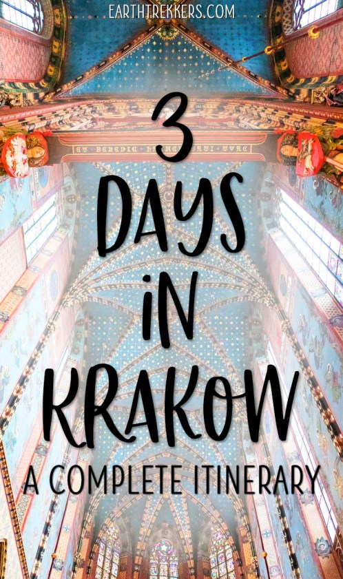 3-Days-in-Krakow-Itinerary-and-Travel-Guide ▷ 3 días en Cracovia: el itinerario perfecto para tu primera visita