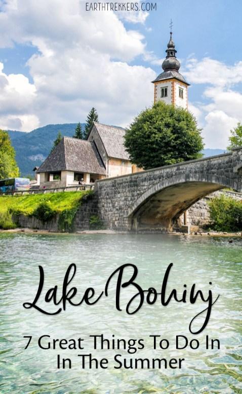 Lake Bohinj Slovenia To Do List