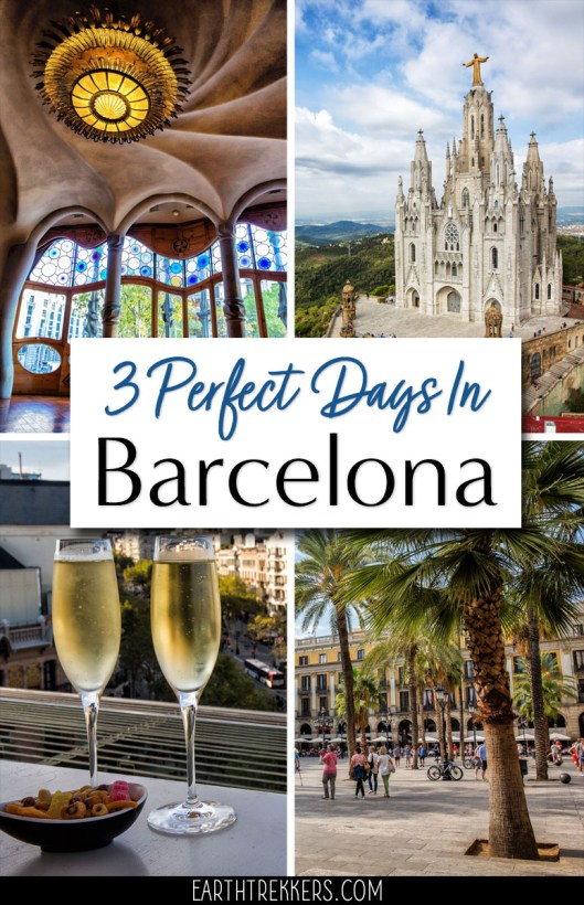 Best Barcelona Spain Itinerary