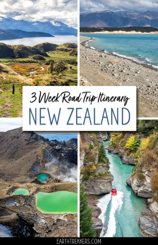 3 Week New Zealand Road Trip Itinerary