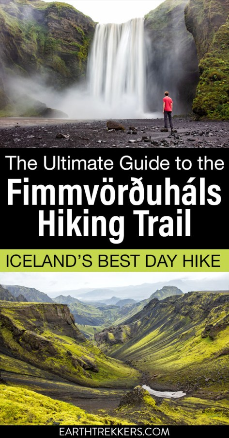 Fimmvorduhals Hike Iceland Travel Guide