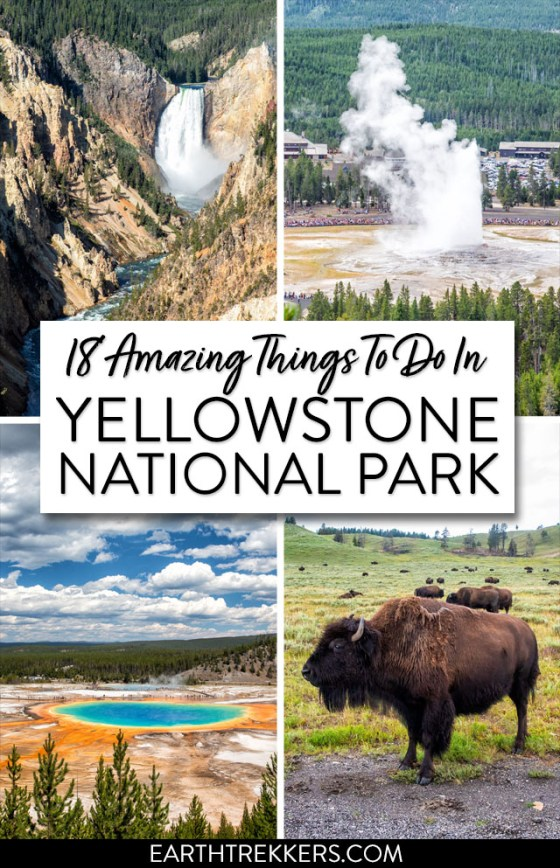 Yellowstone Best Things To Do List