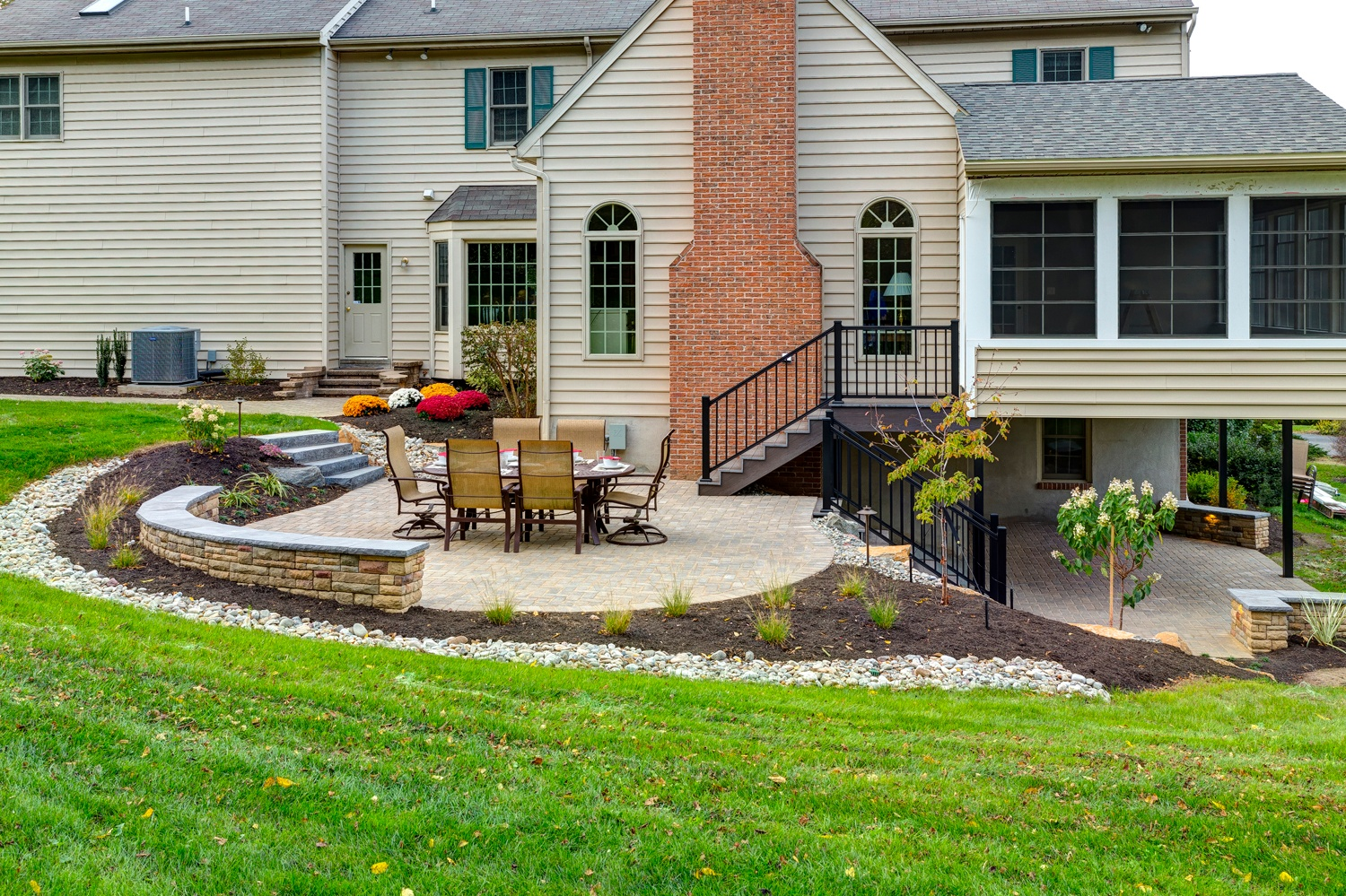 Adding a Patio Under Your Deck: Tips and Ideas for ... on Under Deck Patio Ideas id=64146