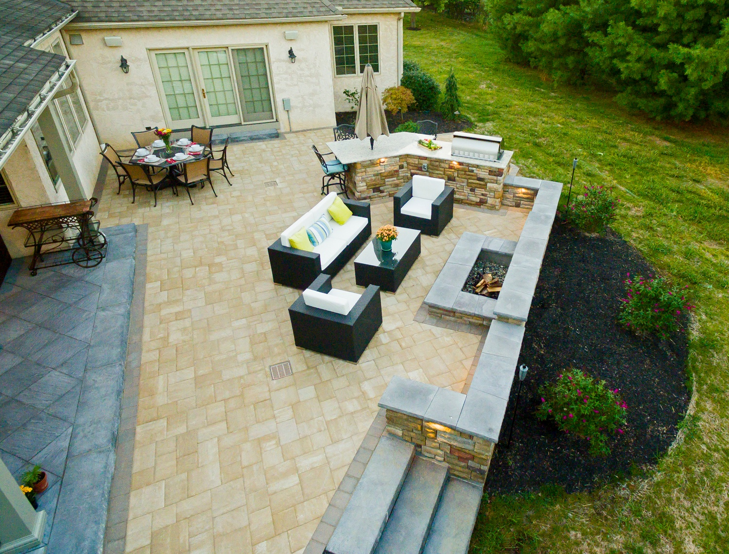 https www earthturfwood com landscaping blog value vs cost to install a paver or natural stone patio in reading lancaster pa