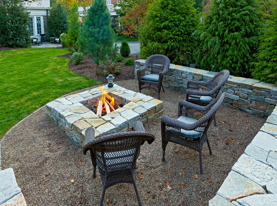 designing and building a fire pit