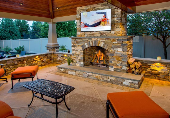 11 of the Hottest Fire Pit and Outdoor Fireplace Ideas and ... on Outdoor Fireplaces Ideas  id=58942