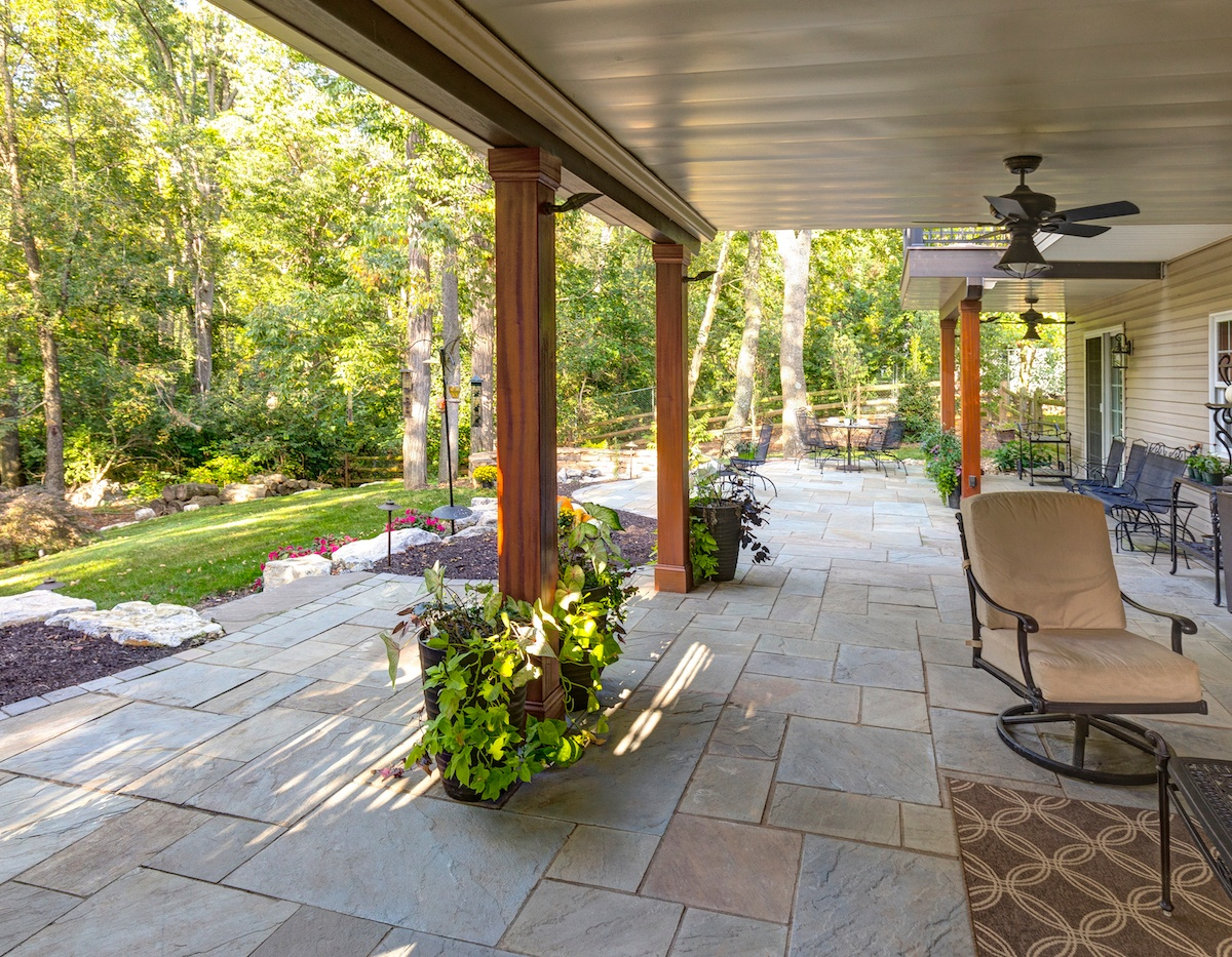 adding a patio under your deck tips
