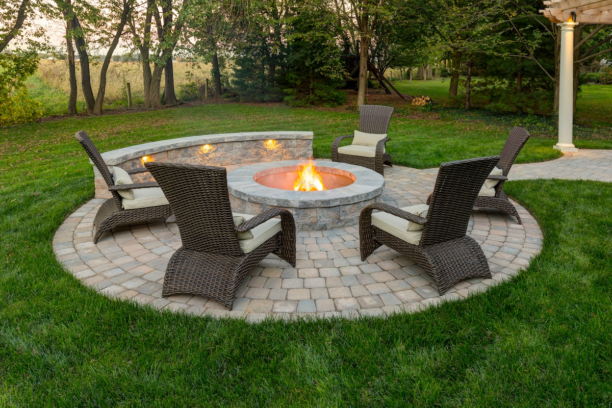 Where to Build a Fire Pit: On the Patio or a Separate Area ... on Fire Pit Design  id=58852