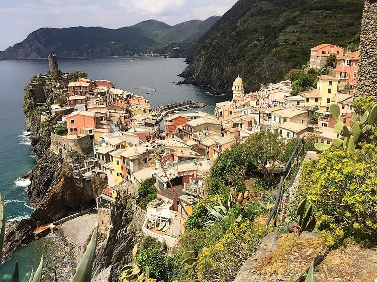 travel northern italy: cinque terre is a hot spot, here is one village