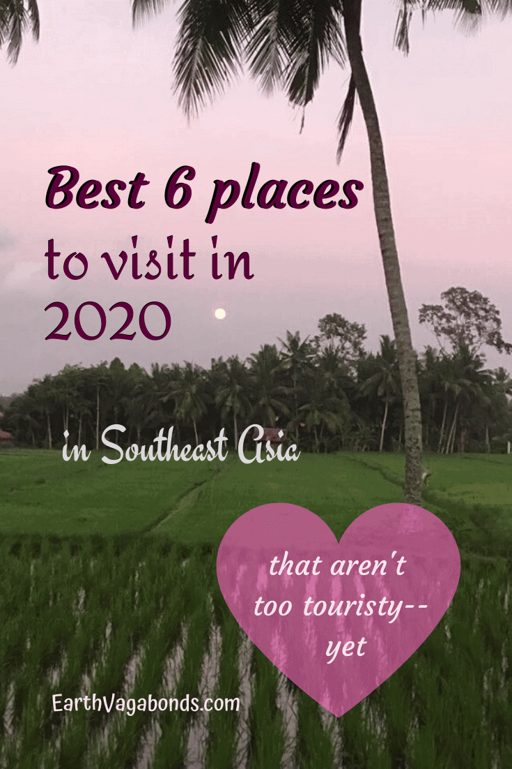 Awesome 2020 Southeast Asia travel spots without too many tourists (yet) 1
