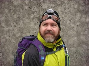 The Founder: C. Neil Linton prior to climbing Mt. Fuji Japan in Winter.