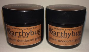 deodorants in jars