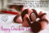 happy chocolate day frnds