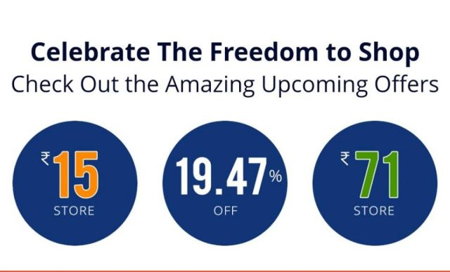Paytm mall independence day sale